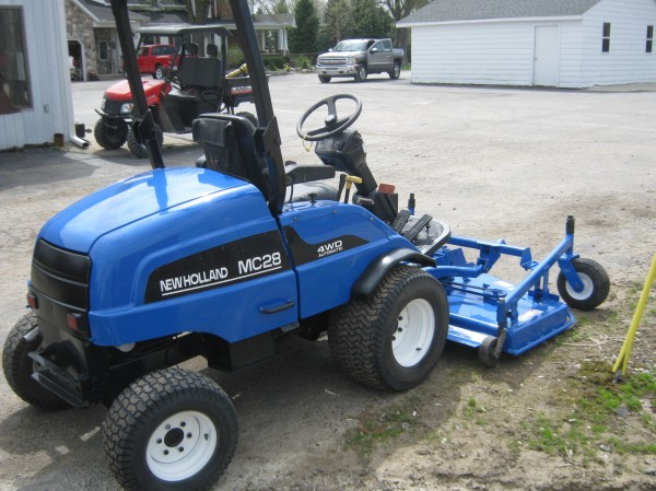 Used Ford Garden Tractors : Ford riding lawn mowers other equipment used