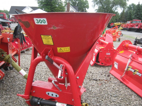 Tractor Seed Spreader Parts : New fertilizer seed spreader hodges farm equipment