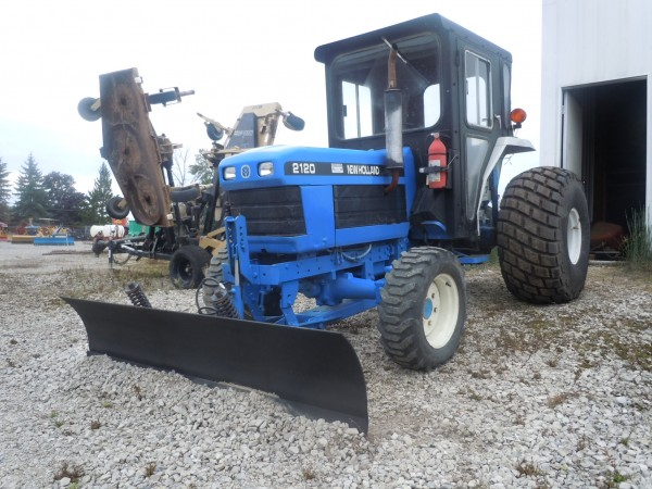 Ford 2120 Tractor : Used ford nh cab tractor w front blade wd hodges
