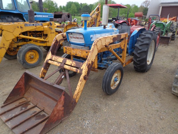 Ford 3000 Loader : Used ford w loader wd