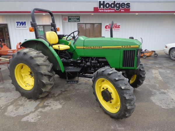 Ford 5200 Tractor Farm : Used john deere tractor wd hodges farm equipment