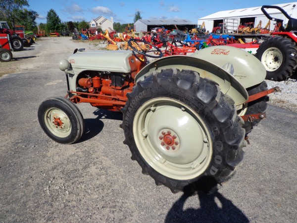52 Ford 8n Tractor Parts : Used ford n tractor wd hodges farm equipment