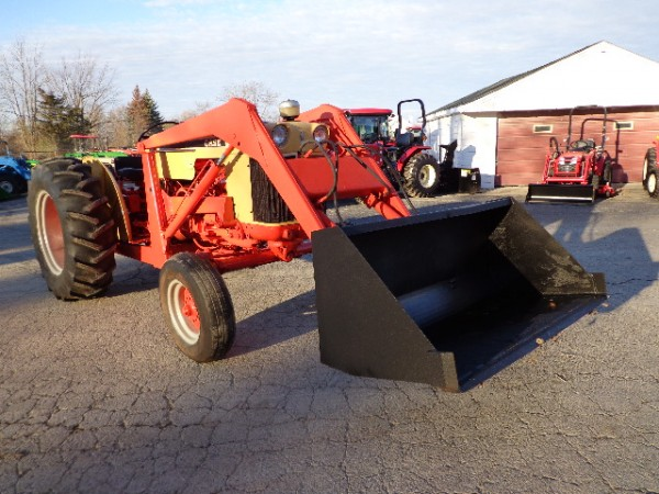 Case 530 Farm Tractor : Used case tractor w loader wd hodges farm equipment