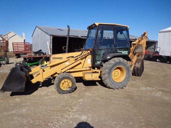 Ford 555d Backhoe Parts : Used ford d tlb wd hodges farm equipment