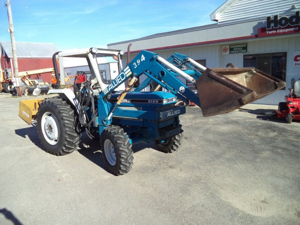 Ford 2120 Tractor : Used ford tractor w loader wd hodges farm equipment