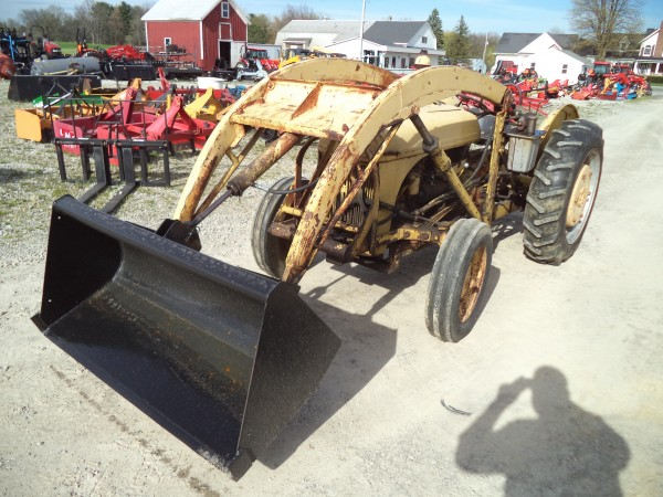 Ford 9n Loader : Used ford n tractor w loader wd hodges farm equipment