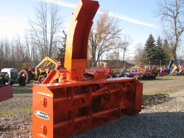 Front Snowblower Tractor Attachment | Case IH
