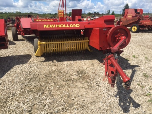 New Holland 273 Square baler specifications rpm
